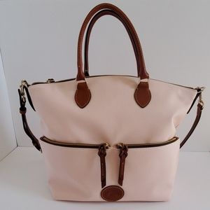 Dooney & Bourke Dillen Large Pocket Satchel Pink